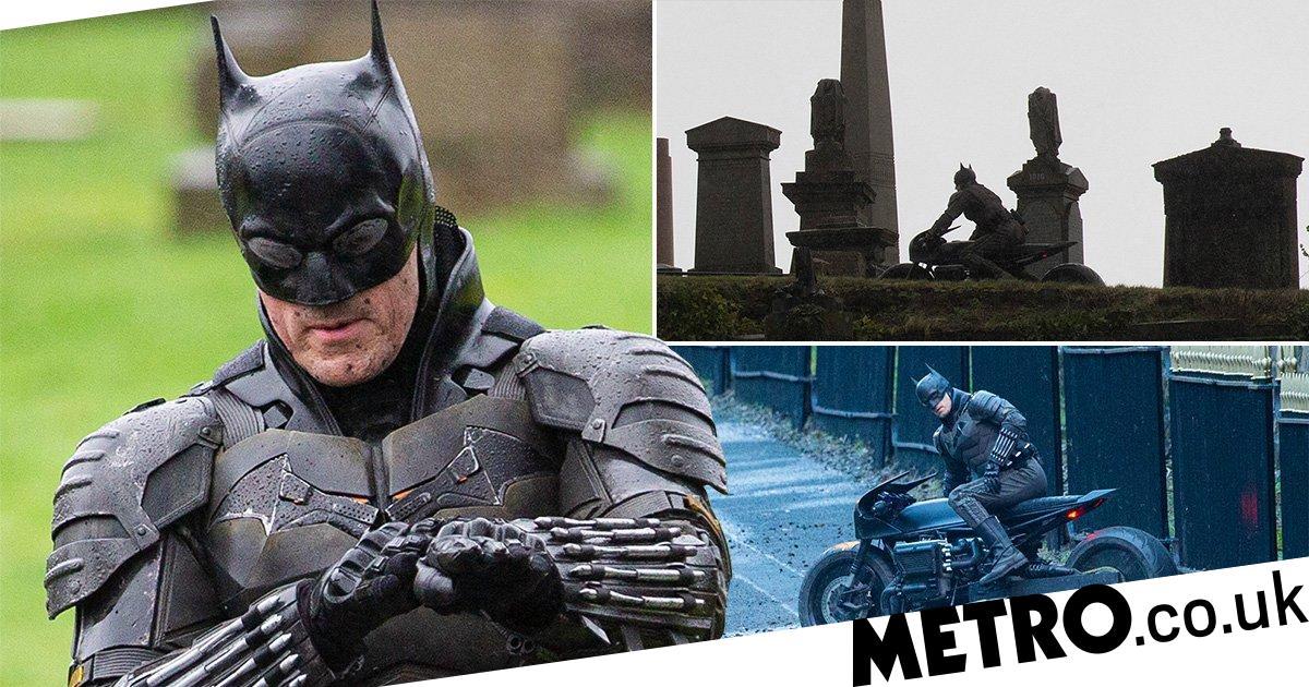 Robert Pattinson's Batman stunt double crashes bike during chase scene