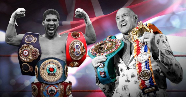 Tyson Fury and Anthony Joshua pic comp