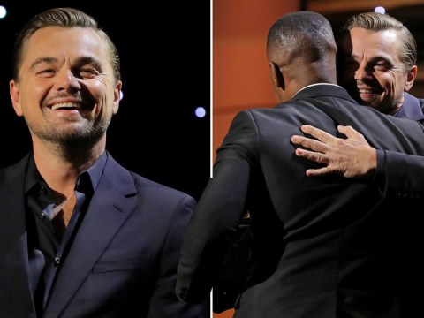 Leonardo DiCaprio's bromance with Djanjo Unchained co-star Jamie Foxx is too pure: 'I love you man'