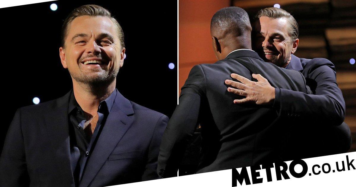 Leonardo DiCaprio's bromance with Jamie Foxx is too pure