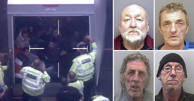 Four men have been jailed for smuggled 29 Vietnamese nationals into the UK