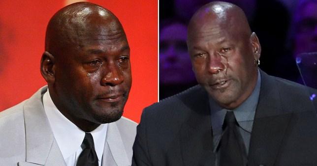 Avenida Convertir campana  Kobe Bryant dead: Michael Jordan jokes about crying meme in tribute   Metro  News