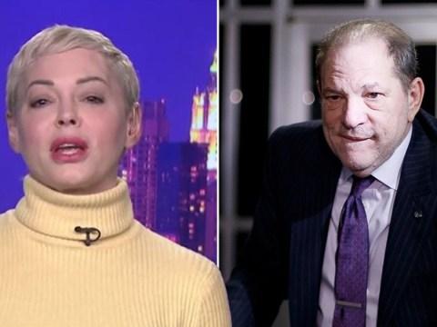 Rose McGowan fears Harvey Weinstein will 'hire a hitman to kill her' following landmark conviction