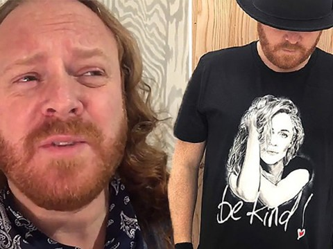 Keith Lemon upset and 'disappointed' after people sell 'fake' Caroline Flack charity t-shirts