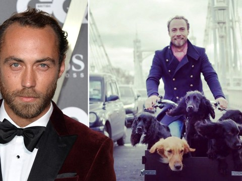 James Middleton reveals his dogs helped him get through depression and now he's making a documentary about it