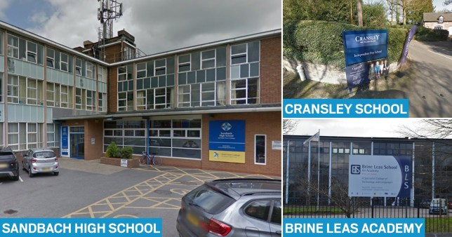 Three schools have closed after pupils returned from Italy amid a coronavirus outbreak (Picture: Google)