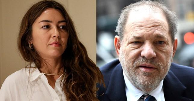 Harvey Weinstein and Mimi Haleyi