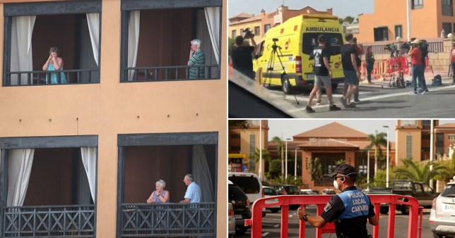 Four people out of a group of 10 Italian tourists have tested positive for coronavirus (Picture: EPA/metro.co.uk)