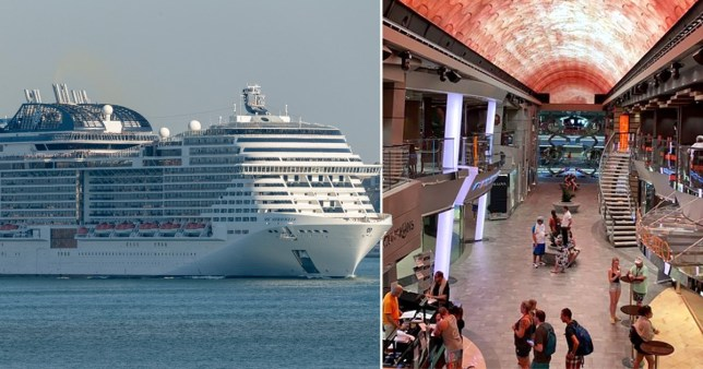 Cruise ship carrying 6,100 blocked from docking amid coronavirus scare
