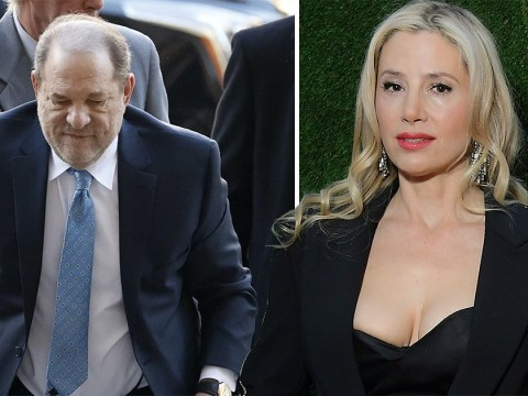 Mira Sorvino hopes Harvey Weinstein 'rots in jail' as she celebrates rape conviction for victims