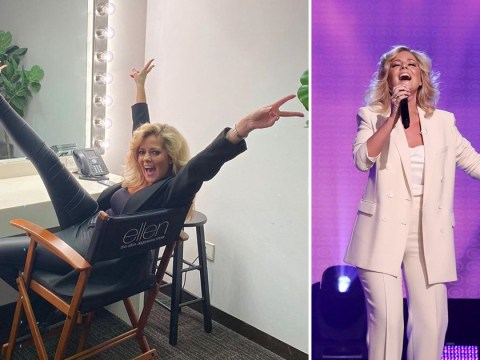 Lady Gaga viral sensation Charlotte Awbery shares behind-the-scenes snaps from The Ellen DeGeneres Show: 'The secret's out'