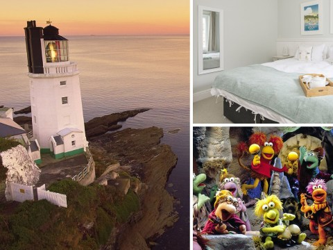 The lighthouse from Fraggle Rock is available to stay in for just £35 per person per night