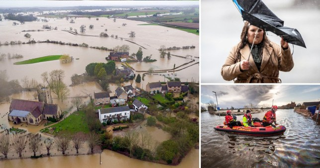 February 2020 has been the wettest month on record in the UK after three massive storms battered the country.