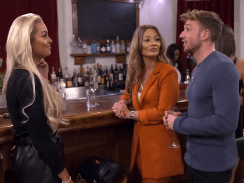Love Island's Shaughna Phillips has painfully awkward interaction with Sam Thompson on Celebs Go Dating