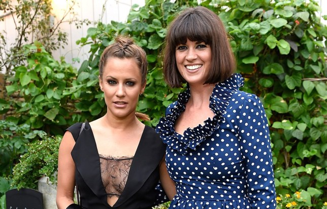 LONDON, ENGLAND - JULY 27: Caroline Flack and Dawn O'Porter attend Dawn O'Porter's fashion pop-up at The Gardening Society on the John Lewis Oxford Street rooftop on July 27, 2016 in London, England. (Photo by David M. Benett/Dave Benett/Getty Images for John Lewis)