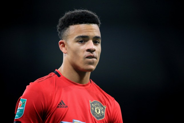 Mason Greenwood was askd to name his Manchester United 4x100m relay team