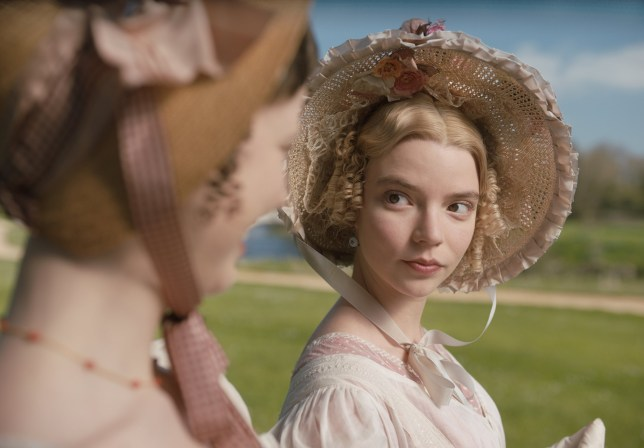 """Anya Taylor-Joy stars as Emma Woodhouse in the adaptation of Jane Austen's """"Emma"""" Pictured: Anya Taylor-Joy stars as """"Emma Woodhouse"""" Ref: SPL5144155 300120 NON-EXCLUSIVE Picture by: SplashNews.com Splash News and Pictures Los Angeles: 310-821-2666 New York: 212-619-2666 London: +44 (0)20 7644 7656 Berlin: +49 175 3764 166 photodesk@splashnews.com World Rights, No United States of America Rights"""