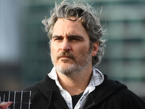 Joaquin Phoenix says 'we're all hypocrites in some ways' as he makes plea for world to go vegan at London protest