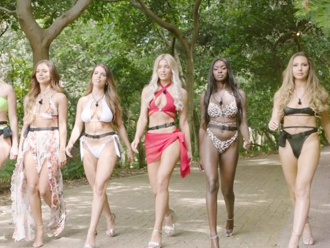 Which Casa Amor girls are going to the main villa with the boys on Love Island?