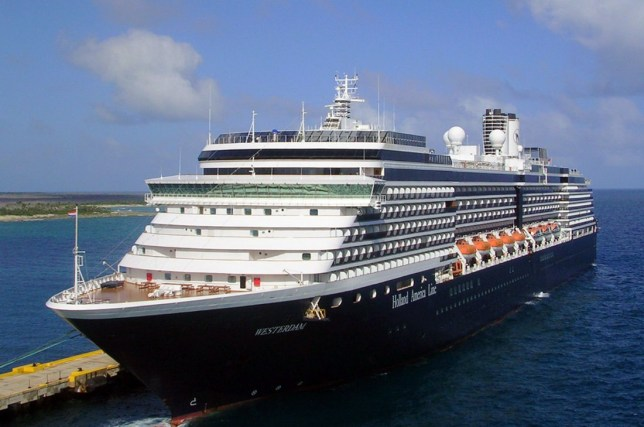 Holland America's MS Westerdam cruise ship