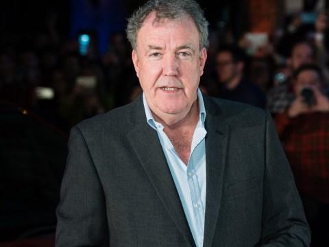 Jeremy Clarkson jokes about 'desperate times' as he cracks open wine in swanky car
