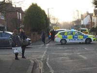 Police closed entire stretch of Briar Gate off from Grassmere to Derby Road this morning. Armed police responding to something near to but apparently not affecting anybody at Wilsthorpe School. *Wilsthorpe School kids in and safe and school gates closed*https://www.facebook.com/groups/longeatoncommunitygroup/Picture: Daryl Craske
