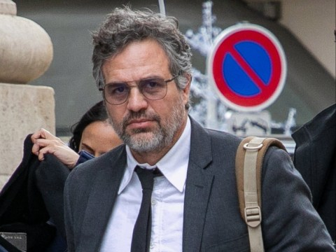 Avengers' Mark Ruffalo means business as he takes new film Dark Waters to the European Parliament in Paris