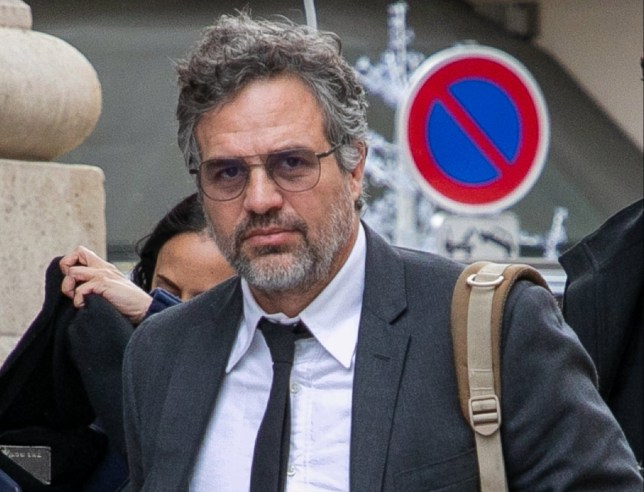 PARIS, FRANCE - FEBRUARY 05: Actor Mark Ruffalo is seen at Gare du Nord station on February 05, 2020 in Paris, France. (Photo by Marc Piasecki/GC Images)