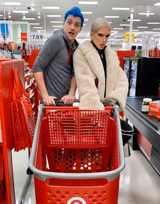Jeffree Star references split from boyfriend Nathan Schwandt as he hangs out with Ninja for Super Bowl https://twitter.com/JeffreeStar/status/1223052266002927616 Picture: JeffreeStar