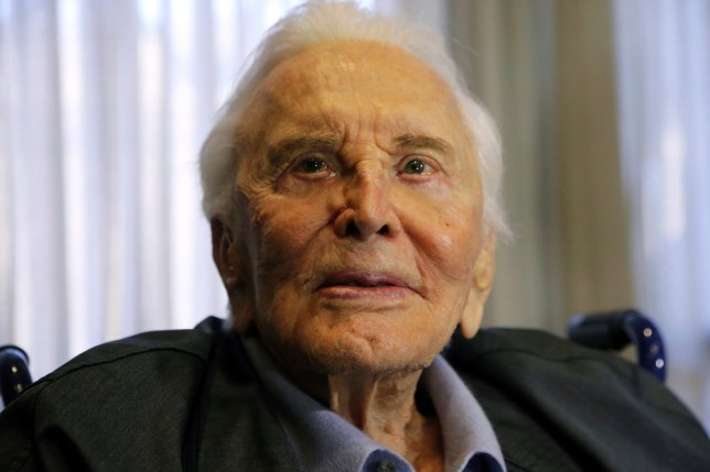 FILE - This May 4, 2017 file photo shows actor Kirk Douglas in Los Angeles. Douglas died Wednesday, Feb. 5, 2020 at age 103.(AP Photo/Reed Saxon, File)