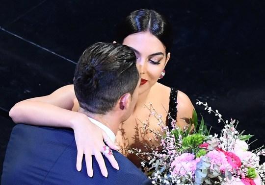 Cristiano Ronaldo and girlfriend Georgina Rodriguez