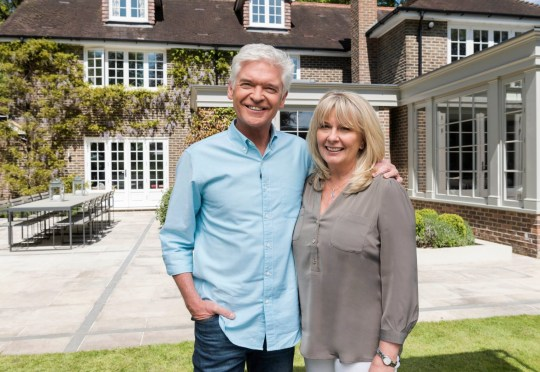 Editorial use only Mandatory Credit: Photo by ITV/REX/Shutterstock (9693212a) Phillip Schofield with his wife Stephanie Lowe 'How to Spend it Well: House & Garden' TV Series UK - 05 Jun 2018 How to Spend it Well: House & Garden, is a one-off special in which Phillip Schofield road tests, rates and reviews the big-selling items we'll be buying this summer for the house and garden.
