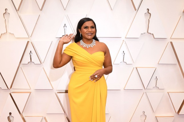 US actress Mindy Kaling arrives for the 92nd Oscars at the Dolby Theatre in Hollywood, California on February 9, 2020. (Photo by Robyn Beck / AFP) (Photo by ROBYN BECK/AFP via Getty Images)