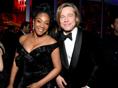 Tiffany Haddish has no desire to date Brad Pitt (even if he teased her about getting together) because he has 'too many kids'