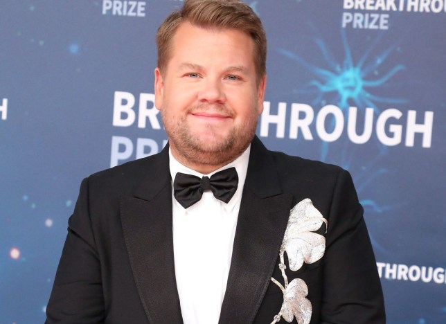 MOUNTAIN VIEW, CALIFORNIA - NOVEMBER 03: James Corden attends the 2020 Breakthrough Prize Ceremony at NASA Ames Research Center on November 03, 2019 in Mountain View, California. (Photo by Taylor Hill/Getty Images)