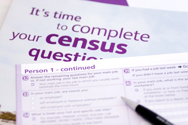 Blank UK Census formSimilar here: