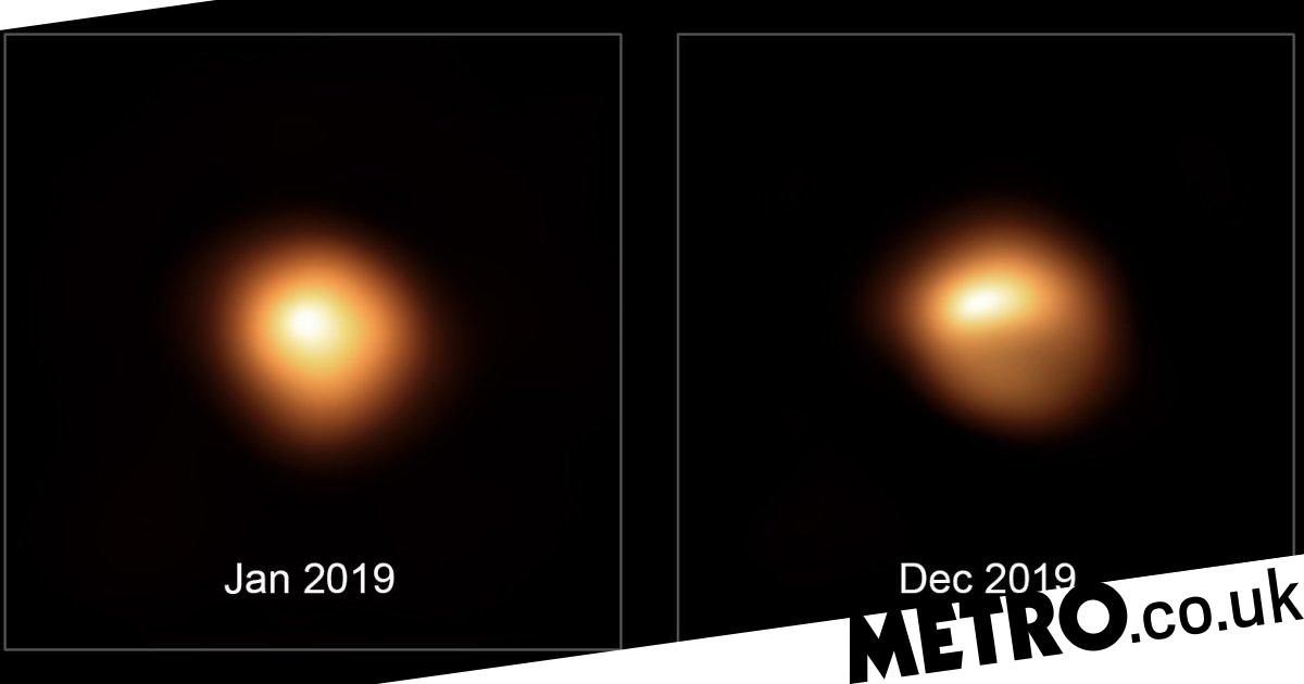 Betelguese may still explode as scientists record proof of it dimming