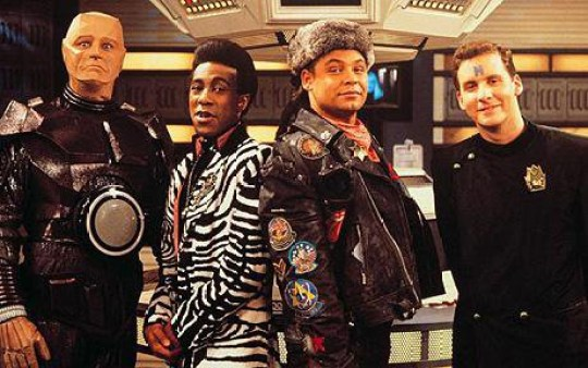 Red Dwarf celebrate 32 years (Picture: Red Dwarf)