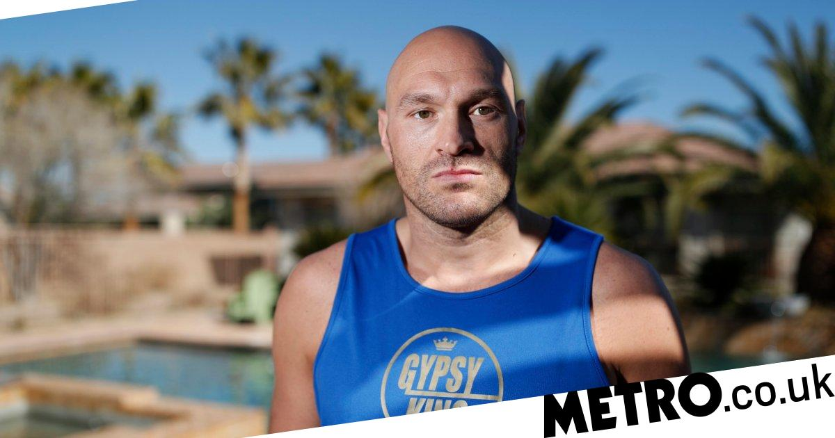 Tyson Fury slams 'w*nker' Eddie Hearn over training camp rumours
