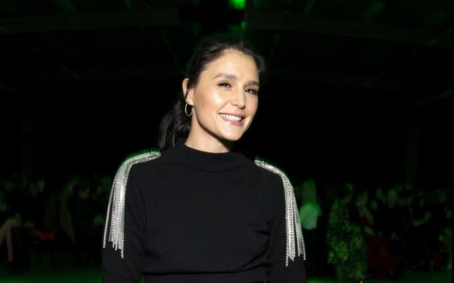 LONDON, ENGLAND - FEBRUARY 17: Jessie Ware attends 'Christopher Kane' fashion show during London Fashion Week February 2020 on February 17, 2020 in London, England. (Photo by Santiago Felipe/Getty Images)