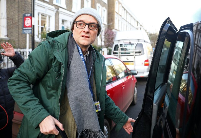 Dominic Cummings, special advisor for Britain's Prime Minister Boris Johnson, leaves his home in London, Britain February 18, 2020. REUTERS/Tom Nicholson NO RESALES. NO ARCHIVES.