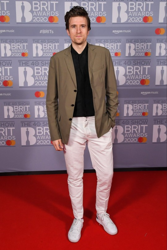 Greg James 40th Brit Awards, VIP Arrivals, The O2 Arena, London, UK - 18 Feb 2020