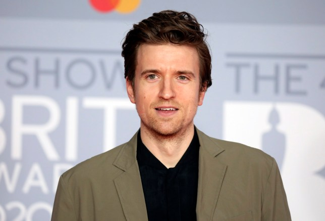 Greg James poses for photographers upon arrival at Brit Awards 2020 in London, Tuesday, Feb. 18, 2020.(Photo by Vianney Le Caer/Invision/AP)