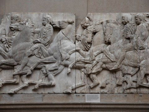 Government says it won't return Elgin Marbles as part of EU trade negotiations