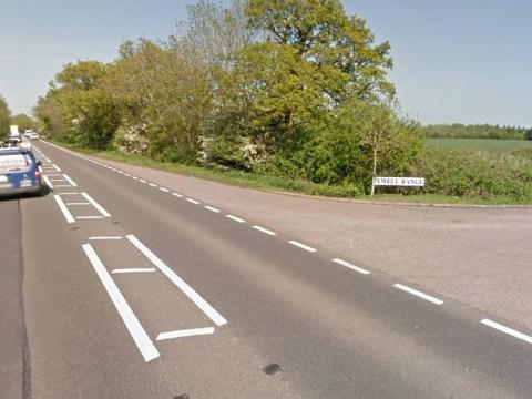 Three dead following head-on crash between lorry and car