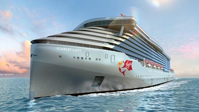 Scarlet Lady cruise ship Virgin Voyages