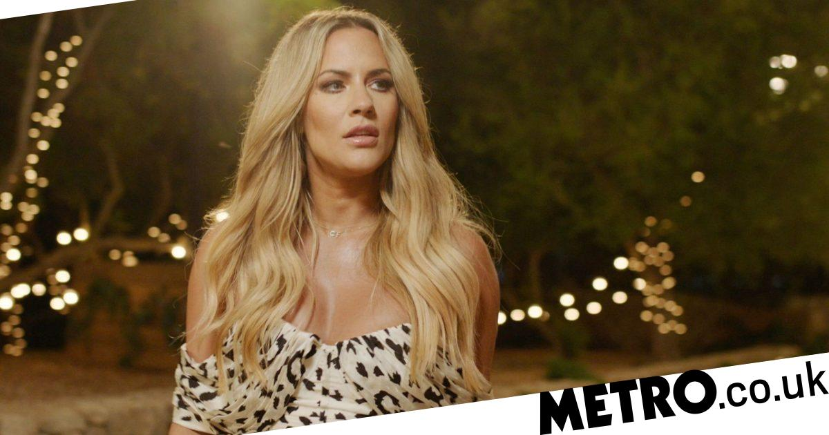 How did the Love Island final pay tribute to Caroline Flack?