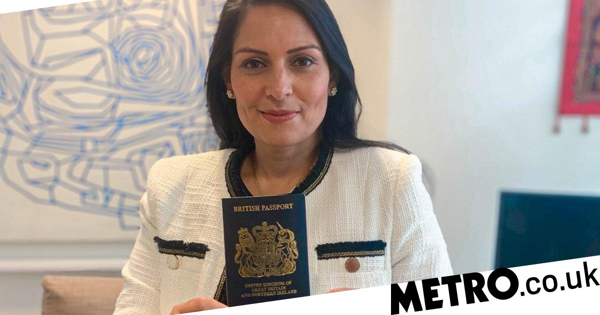 Blue passports to be issued to Brits for the first time in decades next month