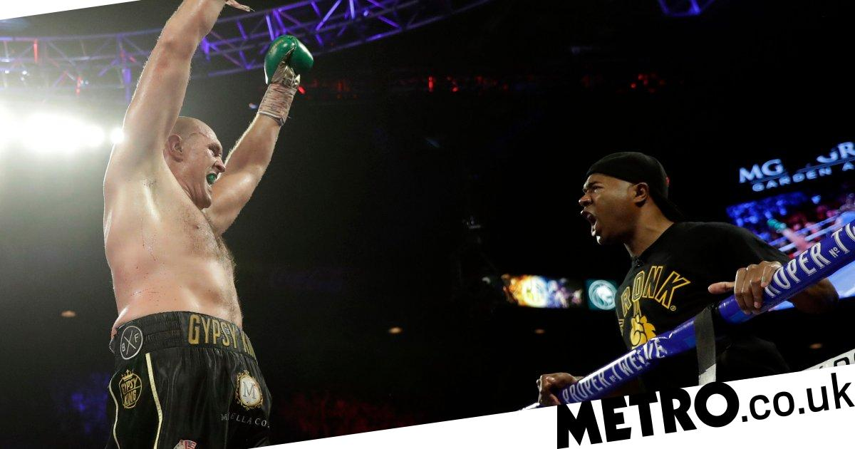 Fury's trainer SugarHill drops retirement bombshell after Wilder victory