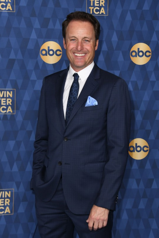"""Host of """"The Bachelor"""" Chris Harrison attends ABC's Winter TCA 2020 Press Tour in Pasadena, California, on January 8, 2020. (Photo by VALERIE MACON / AFP) (Photo by VALERIE MACON/AFP via Getty Images)"""